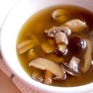 Mushroom Consomme.