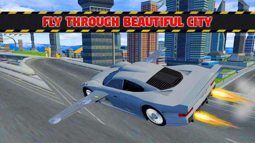 Futuristic Flying Car Ultimate - Aim and Fire 2.5 screenshots 7