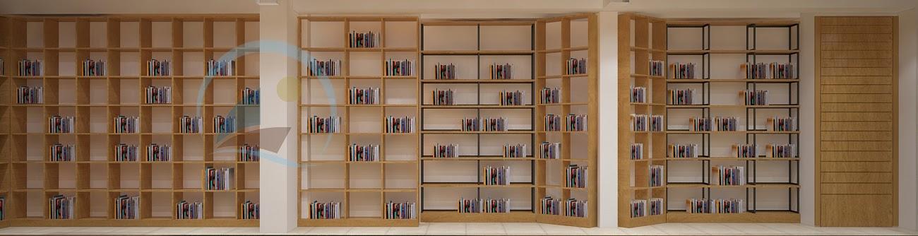 thiết kế nội thất nhà sách Trí Đức 5