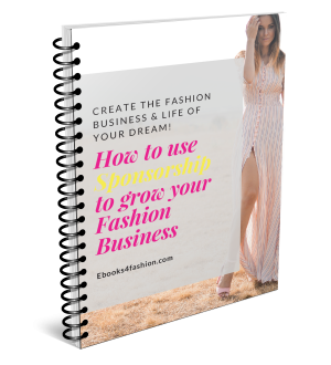 How to use Sponsorship to grow your Fashion Business