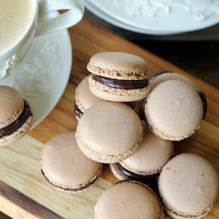 Chocolate Raspberry French Macaroons