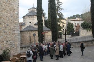 Photo: Devant la Chapelle de Sant Nicolau - 12ème siècle -