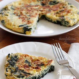 Light Swiss Chard Frittata.
