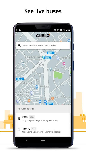 Chalo - Live bus tracking App 5.7.8 screenshots 1