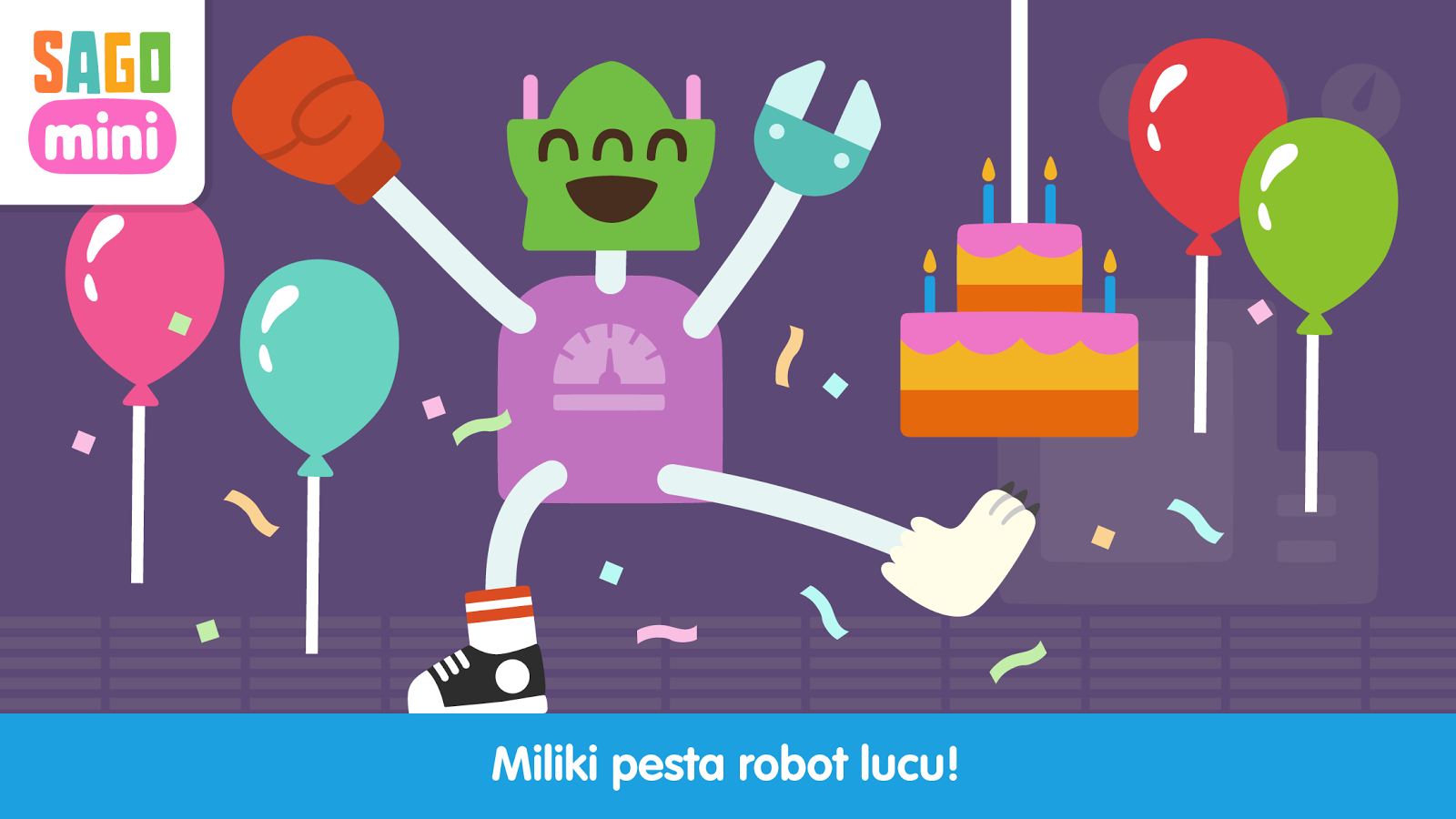 Pesta Robot Sago Mini Apl Android Di Google Play