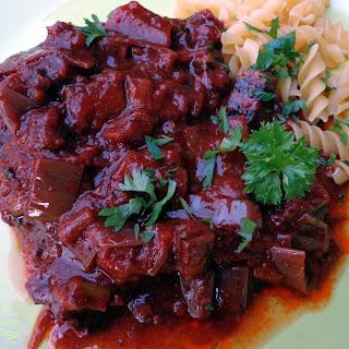 Pressure-cooker Beef In Sauce.