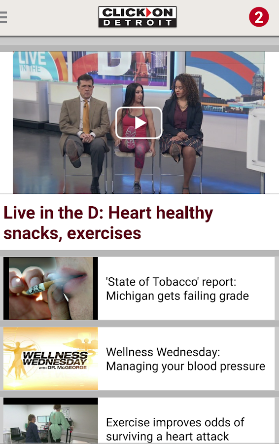ClickOnDetroit WDIV Local 4- screenshot