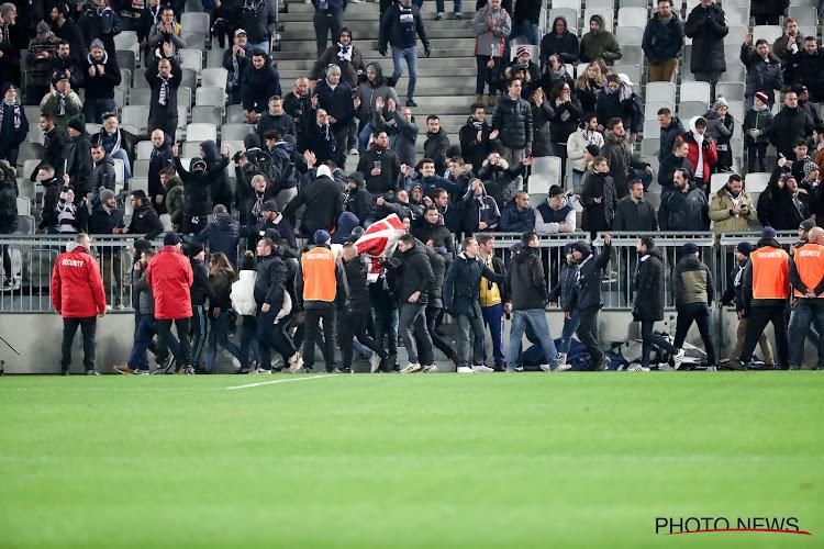 Supporters Bordeaux halen slag thuis na veldbestorming, bestuur zwicht