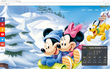 Mickey Mouse Wallpapers Themes Hd Chrome插件下载crx 扩展介绍 插件迷