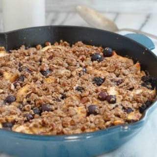 Gluten Free Peach Blueberry Buckle