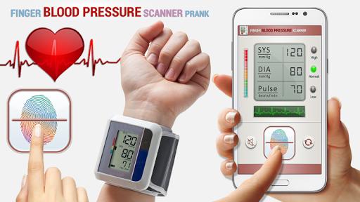 血圧スキャナいたずら