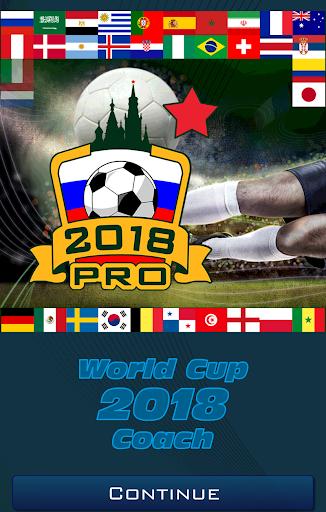 World Cup 2018 Coach Pro  screenshots 1