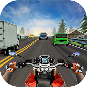 Racing in Moto Highway Racer