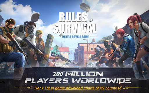 RULES OF SURVIVAL  captures d'écran 2