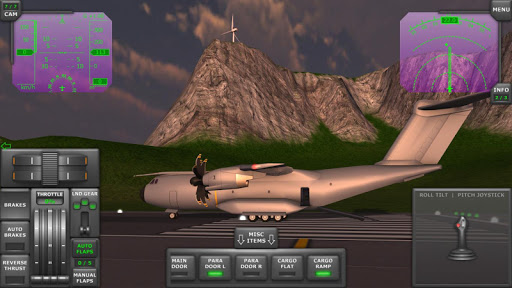 Turboprop Flight Simulator 3D  screenshots 1