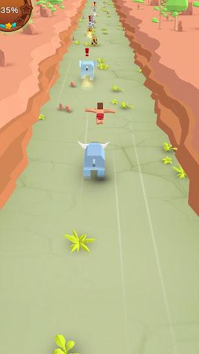 Jungle Rush 3D mod apk 0.9 screenshots 2