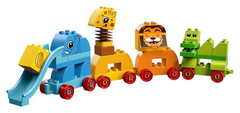 Contenido de Lego® 10863 Caja de Ladrillos: Mis Primeros Animales