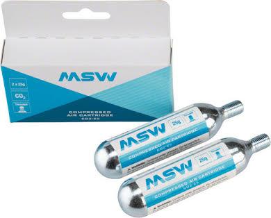 MSW CO2 Cartridge 25g, Box of 2 alternate image 0