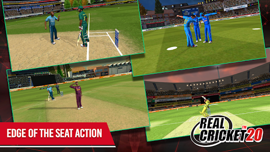 Real Cricket 20 MOD APK (All Unclocked) 4