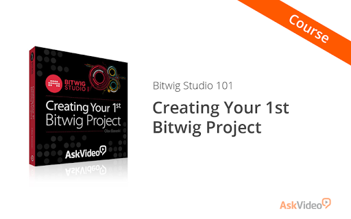 Intro Course For Bitwig Studio