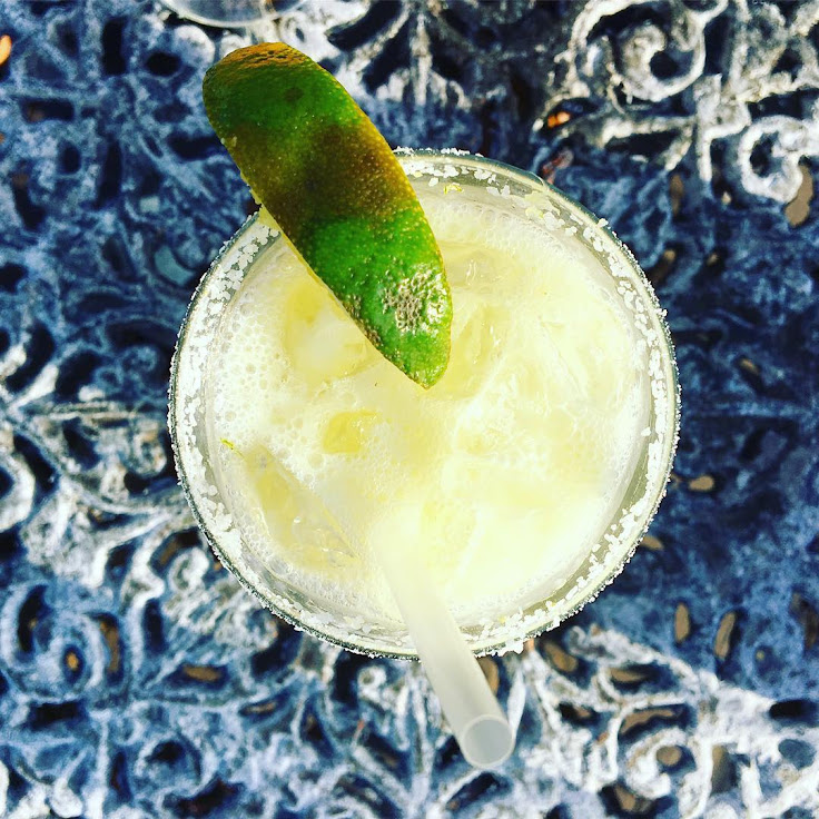An adult margarita at Techo. Photo: Seth Dumas.