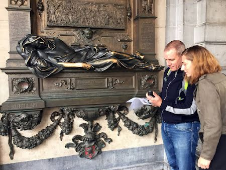 Spannend stadsspel met GPS in Brussel