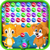 Cat & Dog Bubble Shooter