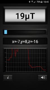 Metal Detector PRO app for Android screenshot