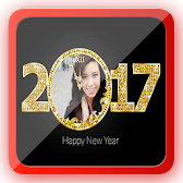 New Year Photo Frame 2017 APK Icon