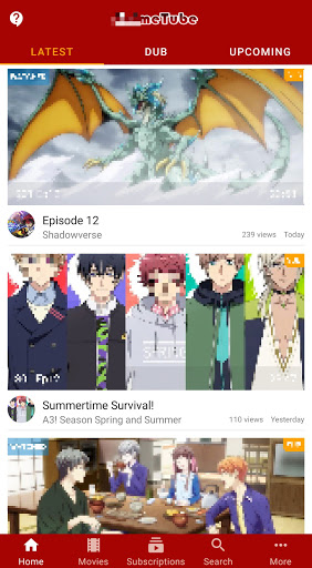 Anime Fanz Tube - Anime Stack  screenshots 2