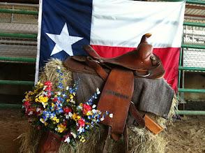 Photo: Texas theme decorations