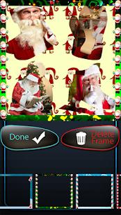 Santa claus fotografická koláž - náhled