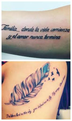 Frases Para Tatuarse Español Apk Download Apkpureco