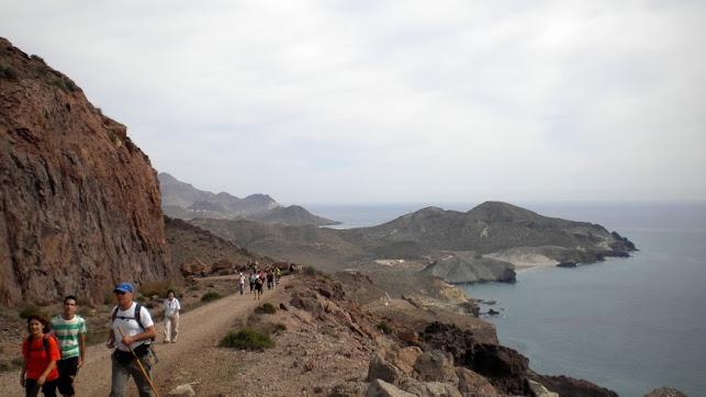 Ruta de senderismo en Almería.