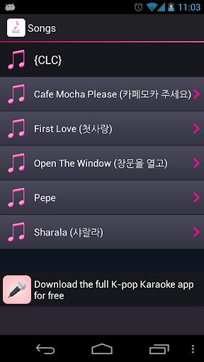 Lyrics for CLC