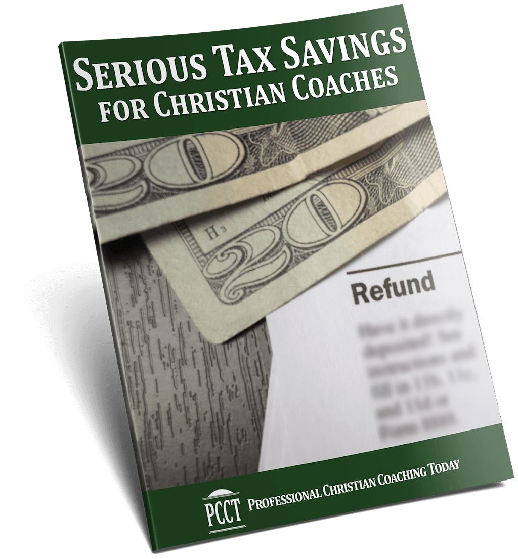 Serious Tax Savings for Christian Coaches