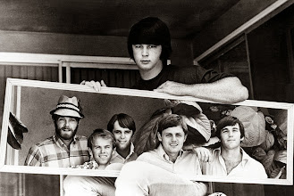 """Photo: """"Brian is the Beach Boys. We're his messengers."""" - Dennis Wilson  What a remarkable photograph! I'm wondering why it wasn't in that Brian Wilson autobiography my wife and I read a decade or two ago..."""
