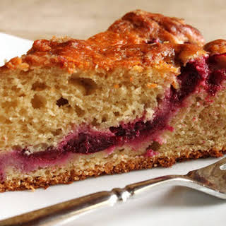 Plum Yogurt Cake.