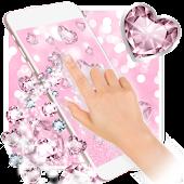 Tải Pink Glitter Diamond Wallpaper APK