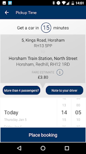 AAA2B Cars Horsham- screenshot thumbnail