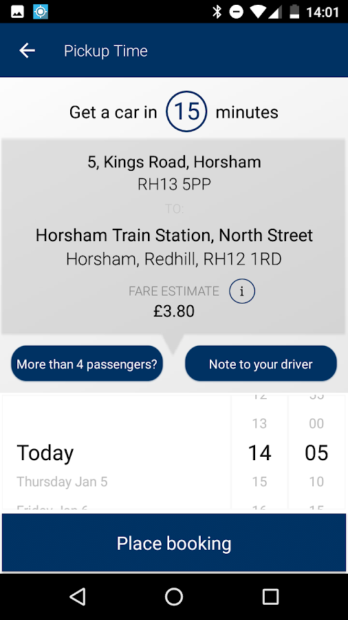 AAA2B Cars Horsham- screenshot