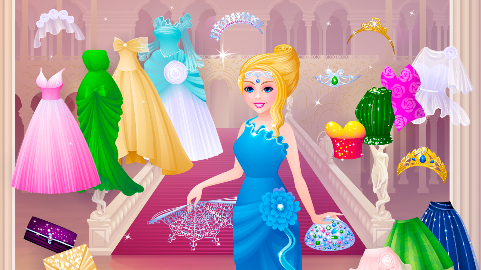 Dress up of cinderella - Cinderella Dress Up Screenshot