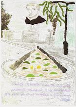 Photo: Praca konkursowa, 2001 r.  Dominik, lat 10. Wyróżnienie w kat. wiek. klas 1 - 3.