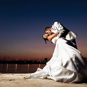 Mariage Cannes by Ludovic Authier - Wedding Bride & Groom ( photographe mariage cannes, photo mariage cannes )