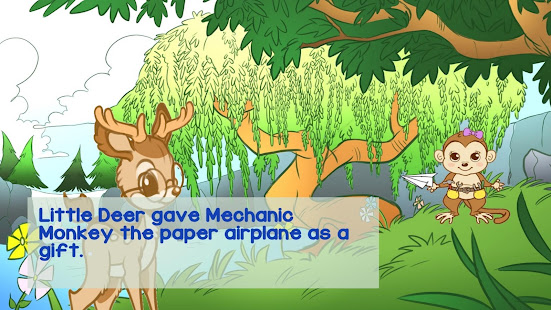Little Deer Engineer and the Paper Airplane - náhled
