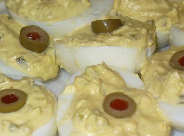 Papaw's Devilled Eggs