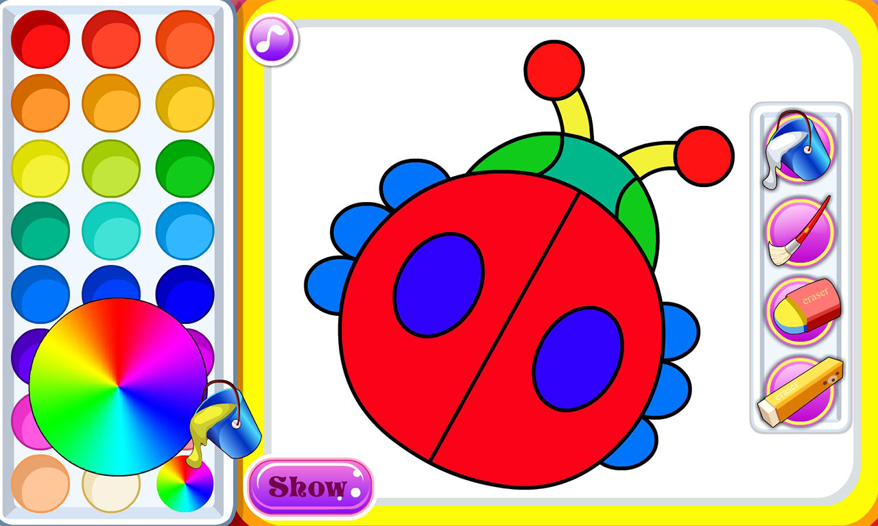 The coloring book - My Coloring Book Screenshot