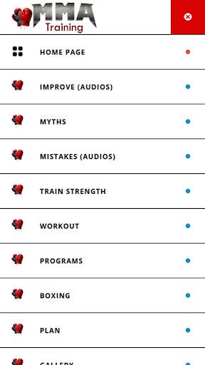 MMA Training and Fitness 1.0 screenshots 5