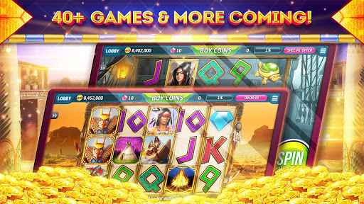 Pharaohs of Egypt Slots u2122 Free Casino Slot Machine 1.45.4 screenshots {n} 5