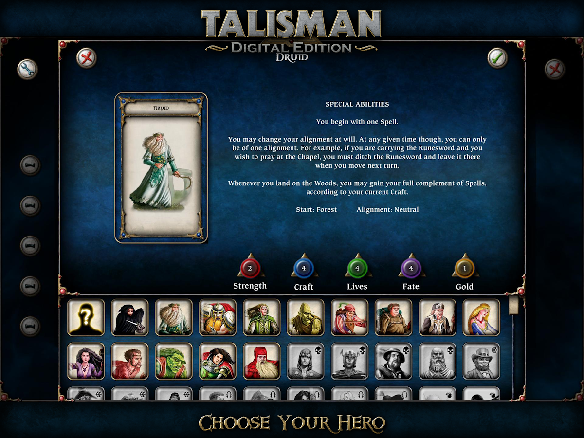 Talisman- screenshot